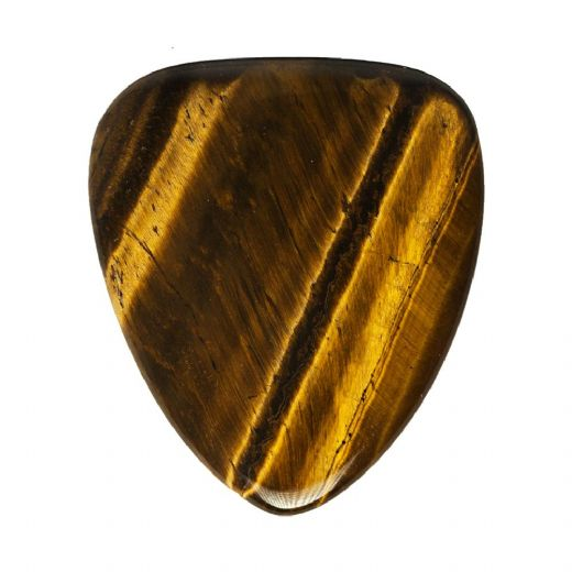 Tiger Tones Gold Tiger Eye 1 Guitar Pick
